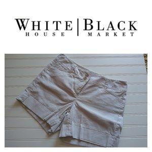 WHBM Striped Shorts